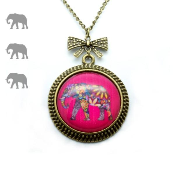 Sautoir éléphant hindou par My Lovely Bird - A Little Market - Cultureandbeaute
