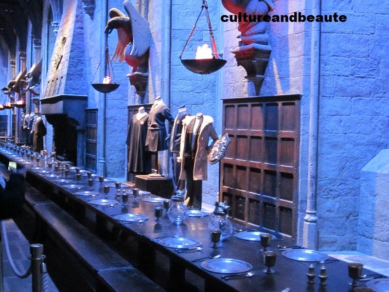 La Grande Salle 2 Harry Potter Studio - Cultureandbeaute