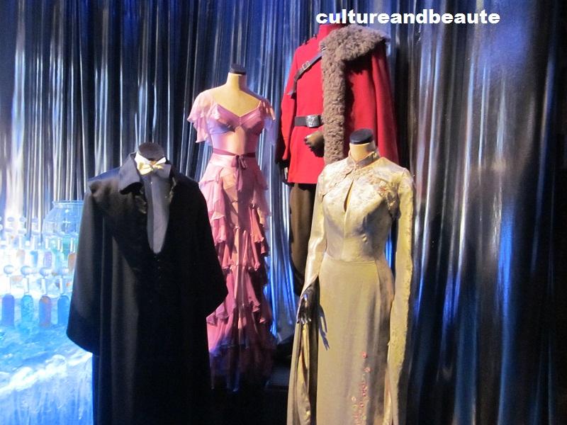 Les costumes des costume La Coupe de Feu - Harry Potter Studio - Cultureandbeaute