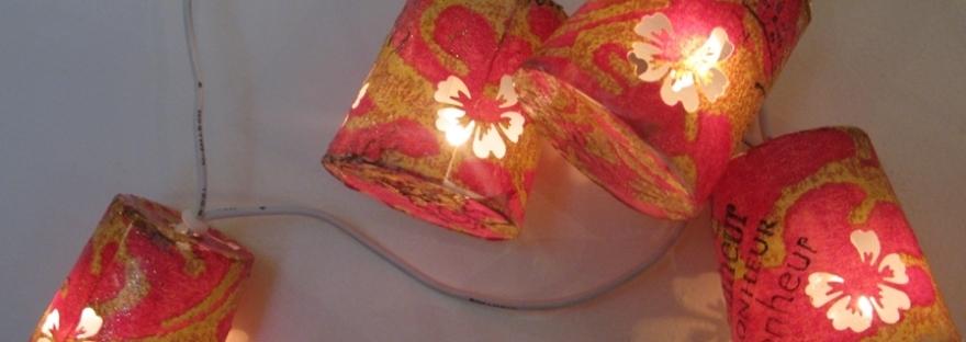 guirlande lumineuse - A little market | Cultureandbeaute