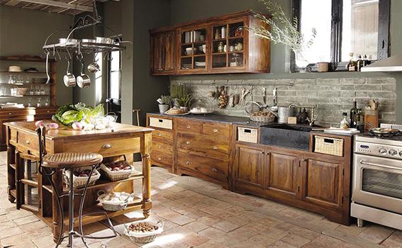 Je veux une cuisine chaleureuse, ambiance déco cocooning ...