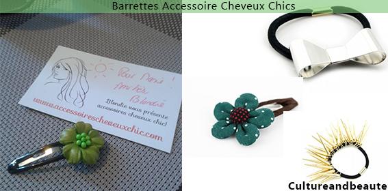 accessoires barrettes - Accessoires Cheveux Chics.com | Cultureandbeaute