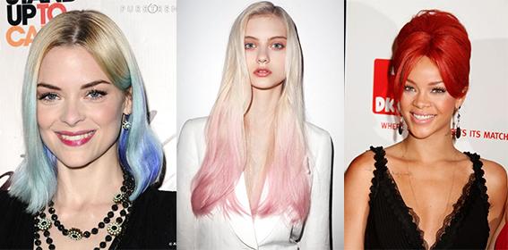 cheveux tie and dye rose bleu | Cultureandbeaute