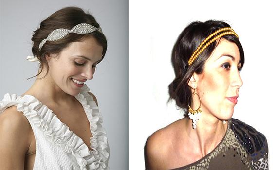 chignon headband | Cultureandbeaute