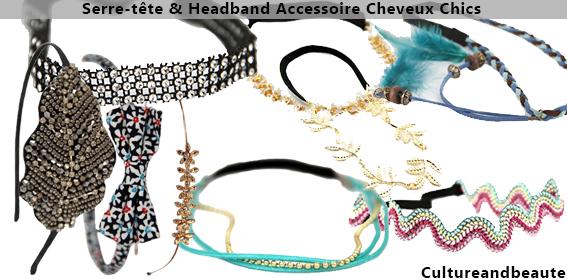 Headbands accessoires barrettes - Accessoires Cheveux Chics.com | Cultureandbeaute