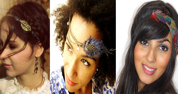 headband à plume | Cultureandbeaute