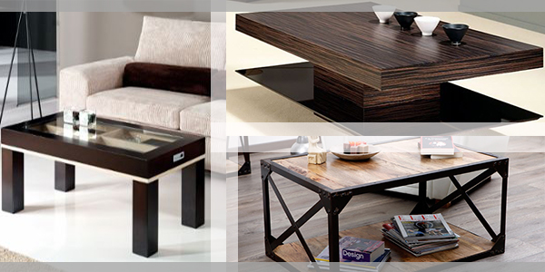 table basse de salon tendance. Black Bedroom Furniture Sets. Home Design Ideas