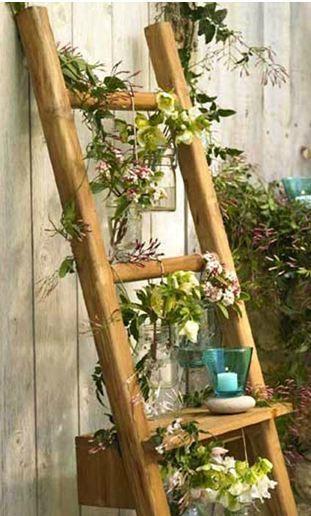 echelle-deco-jardin