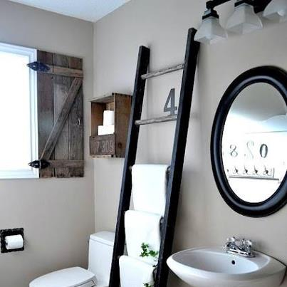 Echelle salle de bains sweet home