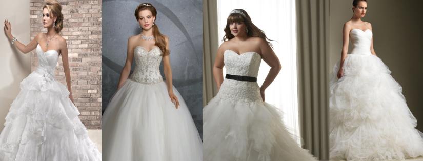Robes de mariées princesse