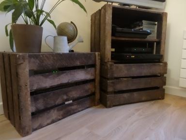 meuble tv caisse bois 2- A lovely fantasy