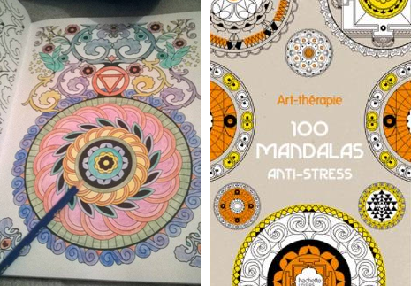 coloriage anti stress beaute