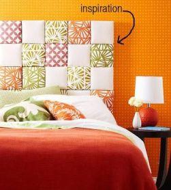 tete de lit coussins colorés - Pinterest - Cultureandbeaute