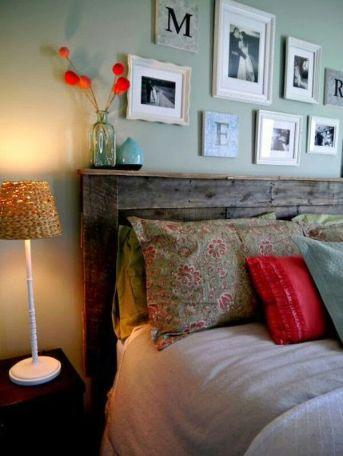 tete de lit palette etagere - Pinterest - Cultureandbeaute