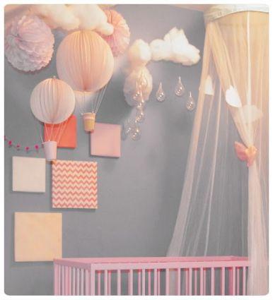 Chambre bébé fille | Cultureandbeaute