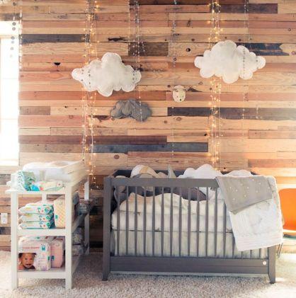 Chambre pour bébé garçon bois | Cultureandbeaute