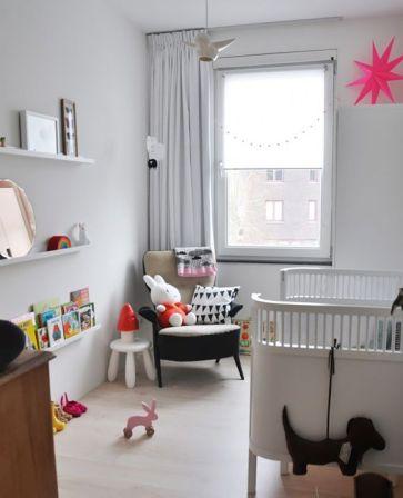 Chambre bébé neutre - Crevette noire | Cultureandbeaute
