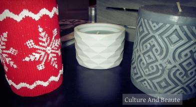Bougies déco hiver| Cultureandbeaute