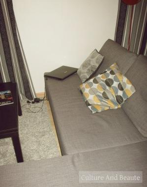 Canapé déco| Cultureandbeaute