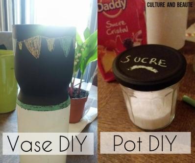 DIY pot ardoise - Cultureandbeaute