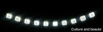 guirlande lumineuse chambre - Cultureandbeaute