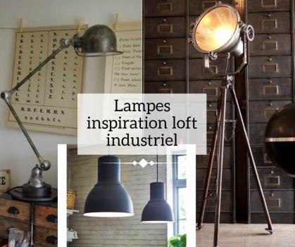 lampe industriel deco - Cultureandbeaute