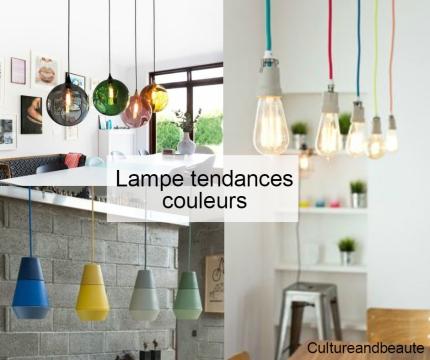 lampe tendance couleurs - Cultureandbeaute